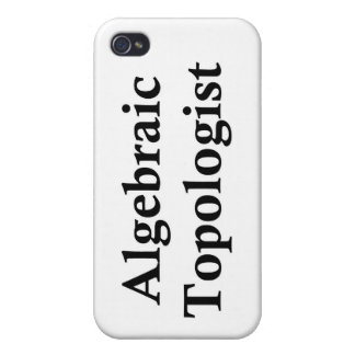 Algebraic Topologist Cover For iPhone 4