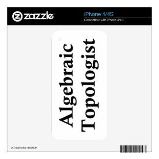 Algebraic Topologist Skins For iPhone 4
