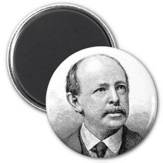 Alger ~ Horatio Author Writer 2 Inch Round Magnet