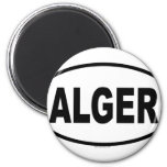 ALGER REFRIGERATOR MAGNET