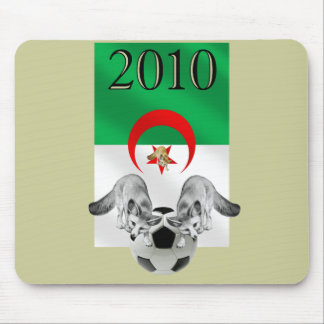 Algeria 2010 Les Fennecs football flag Mouse Pad