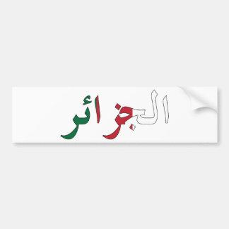 Algeria / Algérie Bumper Sticker