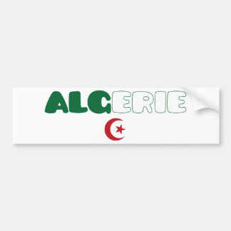 Algeria / Algerie Bumper Sticker