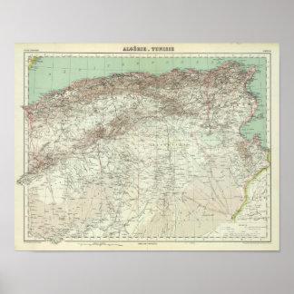Algeria and Tunisia Poster