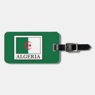 Algeria Bag Tag