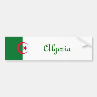 Algeria Bumper Sticker