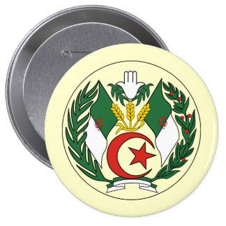 Algeria 4 Inch Round Button
