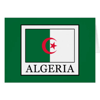 Algeria Card