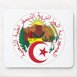Algeria Coat of arm  DZ Mouse Pad