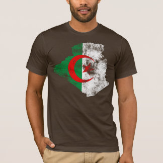 Algeria Distressed Flag T-Shirt