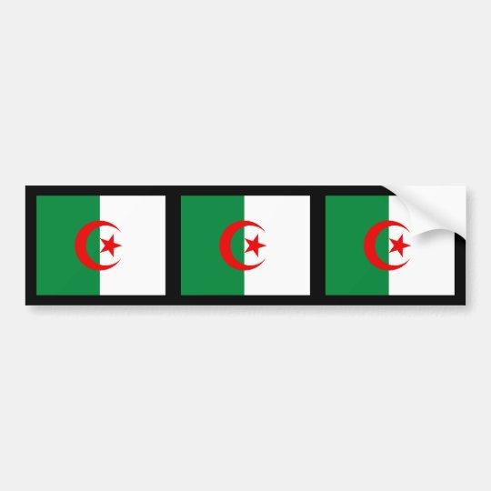 Algeria Flag Bumper Sticker