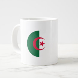 Algeria Flag Giant Coffee Mug