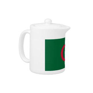 Algeria Flag Teapot