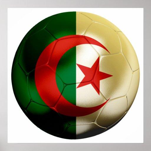 Algeria Football Poster