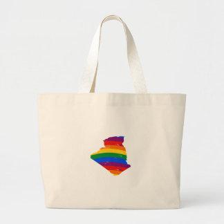 ALGERIA GAY PRIDE CANVAS BAGS