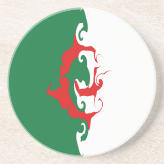 Algeria Gnarly Flag Coasters