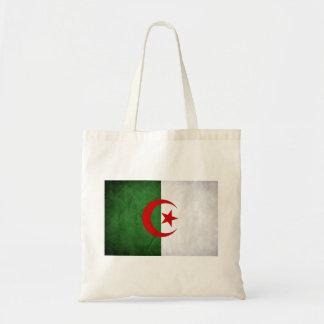 Algeria Grunge Flag Budget Tote Bag