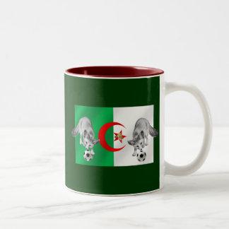 Algeria Les fennecs soccer lovers gifts Two-Tone Coffee Mug