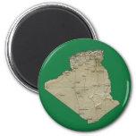 Algeria Map Magnet