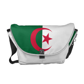 Algeria National Flag Messenger Bag