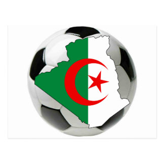 Algeria national team post card