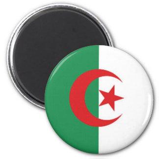 Algeria Naval Ensign 2 Inch Round Magnet