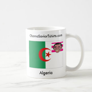 Algeria, obama , Algeria, SaviorTshirt... Classic White Coffee Mug