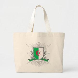 Algeria Shield Jumbo Tote Bag