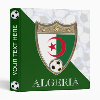 """Algeria Soccer 1"""" Binder"""