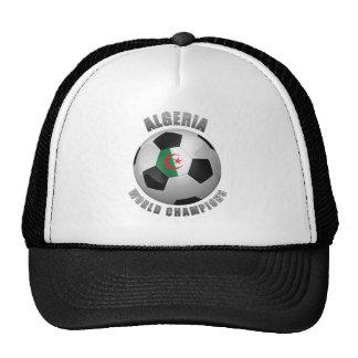 ALGERIA SOCCER CHAMPIONS TRUCKER HATS