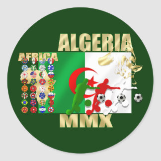 Algeria Soccer Football MMX Africa 2010 gifts Stickers