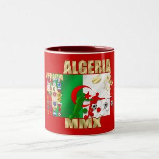 Algeria Soccer Football MMX Africa 2010 gifts Two-Tone Coffee Mug