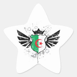 Algeria soccer star sticker