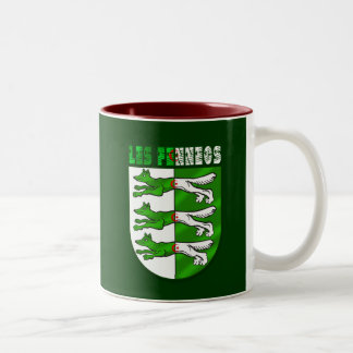 Algeria Soccer T-shirts and football fans gifts Two-Tone Coffee Mug