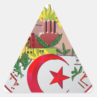 Algeria Triangle Sticker