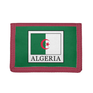 Algeria Trifold Wallets