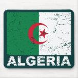 Algeria Vintage Flag Mouse Pad