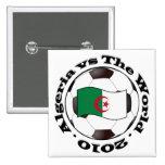 Algeria vs The World Pin