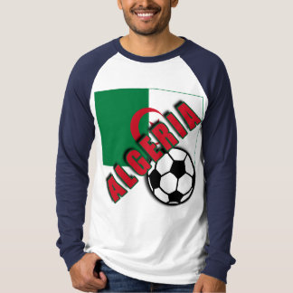 ALGERIA World Soccer Fan Tshirts