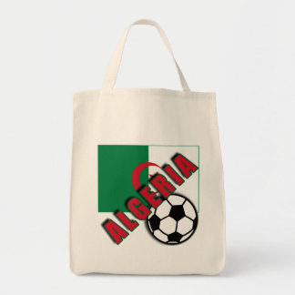 ALGERIA World Soccer Fan Tshirts Grocery Tote Bag