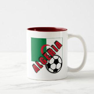 ALGERIA World Soccer Fan Tshirts Two-Tone Coffee Mug