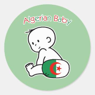 Algerian Baby Classic Round Sticker