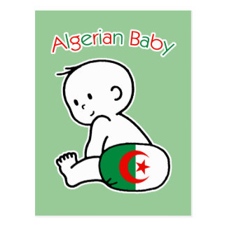 Algerian Baby Postcard