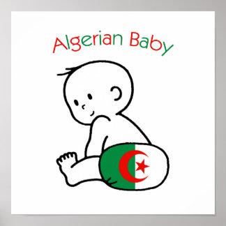 Algerian Baby Poster