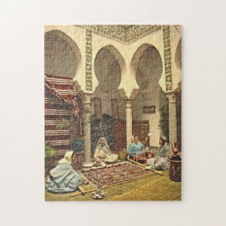 Algerian Carpet Makers 1899 Jigsaw Puzzle