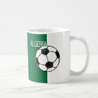 Algerian Flag   Football Coffee Mug