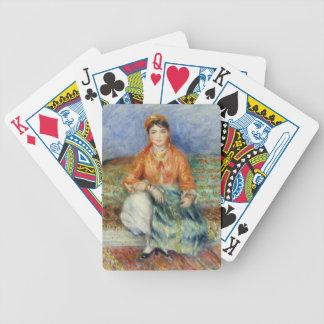 Algerian Girl by Pierre-Auguste Renoir Card Decks