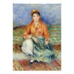 Algerian Girl by Pierre-Auguste Renoir Invite