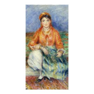 Algerian Girl by Pierre-Auguste Renoir Photo Card Template