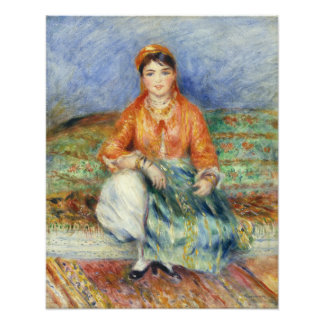 Algerian Girl by Pierre-Auguste Renoir Photograph